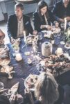 middagsbjudning på konferens villa strömsfors