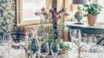 Dukat bord Villa Strömsfors